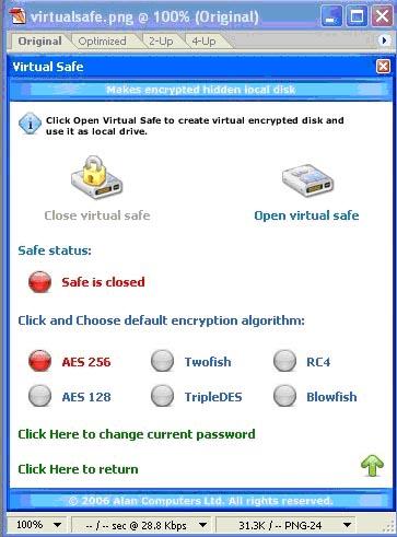 Virtualsafe