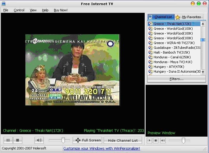 Free  Internet  TV