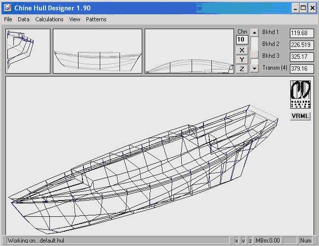 Chine  Hull  Designer