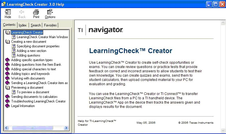LearningCheck  Creator