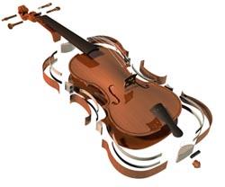 Violin Laminate